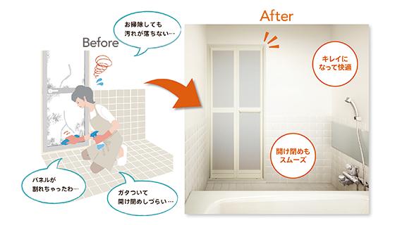扉 交換 風呂 お風呂のドアガラスが壊れた時の修理方法|ガラス修理、ガラス交換なら365日対応のガラスの生活救急車