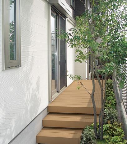 隣地境界や裏庭など、暮らしの中にまだまだ眠っているスペースを有効にご活用いただけます。