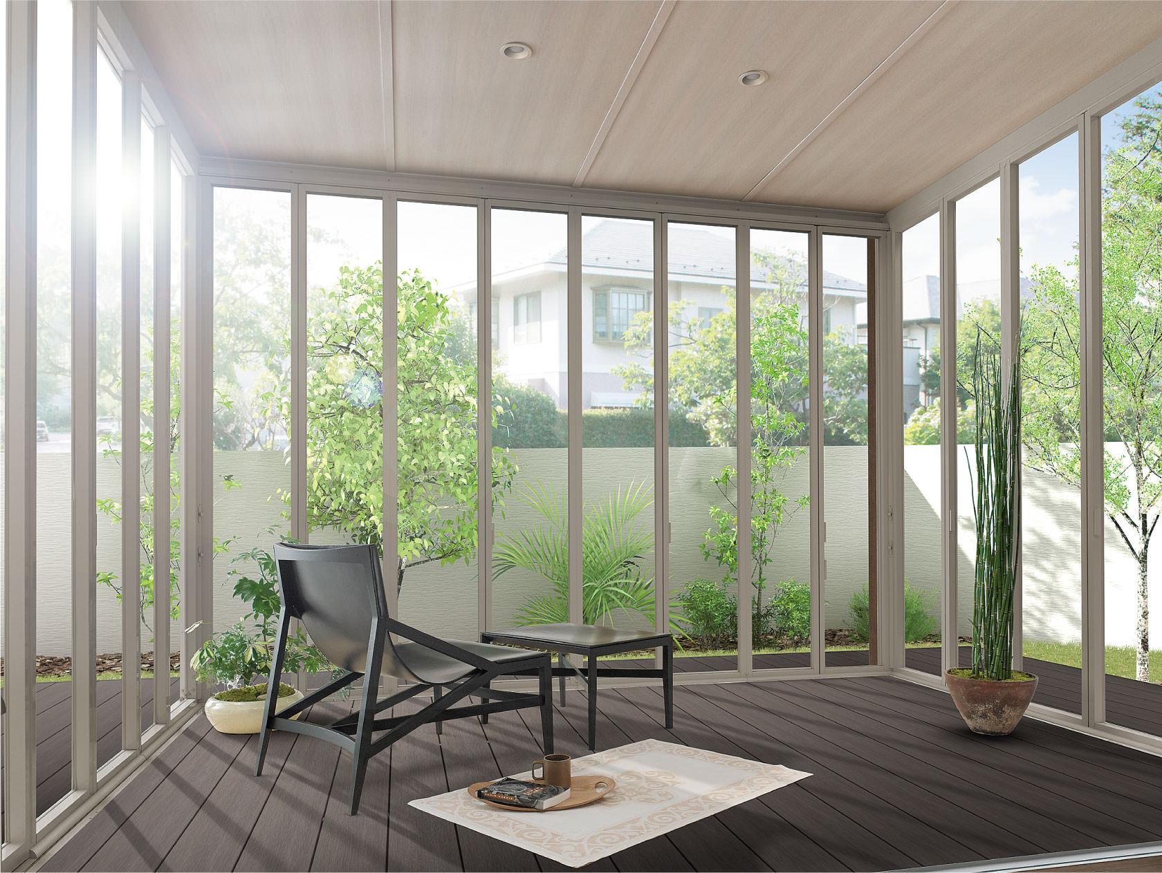 「ZIMA ガーデンルーム LIXIL」の画像検索結果