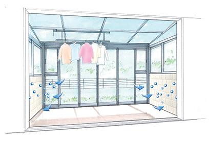 快適な湿度を保ち、イヤなニオイも軽減するエコカラットプラス。