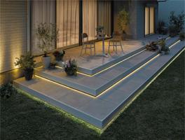 ワンタッチ施工で簡単に取付けできるLEDライン照明。