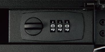 防犯面でも安心な、シンプルな操作で使いやすいダイヤル錠
