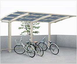 自転車置場屋根 ファインポートⅡZミニ