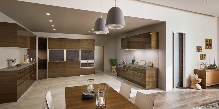 「リシェルSI」オープン対面キッチン アイランド型|LIXIL