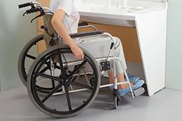 車椅子でらくらくアプローチ
