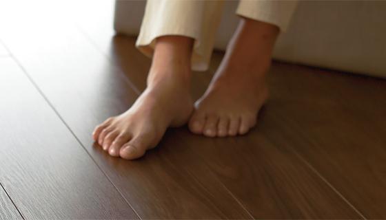 好みの床材が選べる