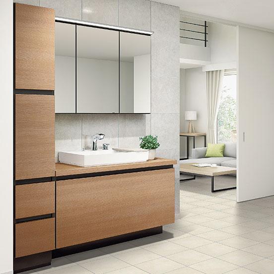 ルミシス/ベッセルタイプ洗面化粧台|LIXIL