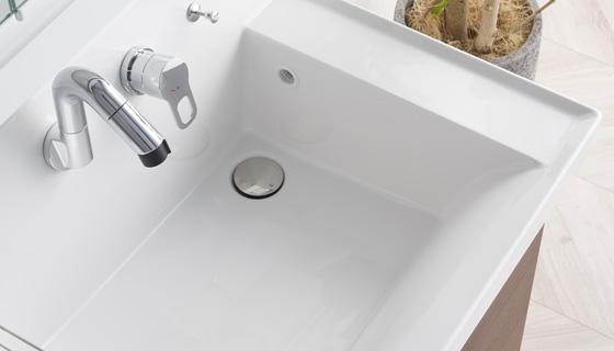 大容量の洗面器