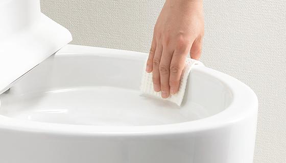 シンプルだからこそ、使いやすいトイレに