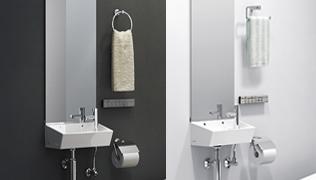 紙巻器・タオル掛・タオルリング・リモコンスタンド・化粧棚