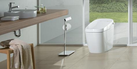 シャワートイレ一体型便器(タンクレス)