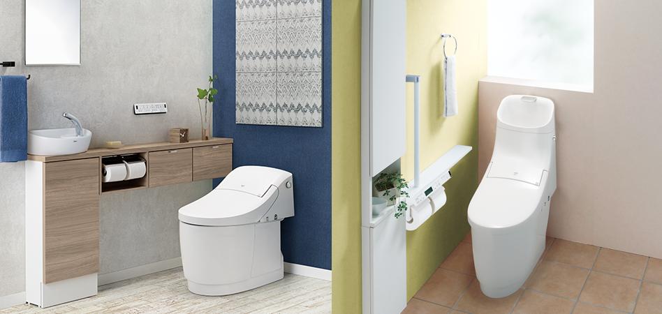 プラズマクラスターがトイレを除菌!除菌・抗菌機能が満載の清潔トイレのご紹介!!