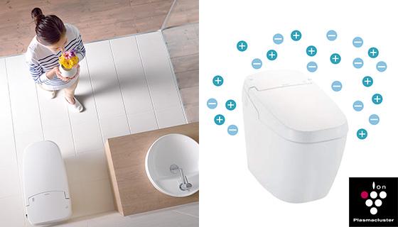 ニオイや菌から解放されれば、トイレはもっと身近になる