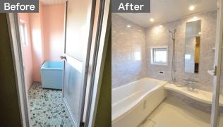 LIXIL   浴室・お風呂・バスルーム・ユニットバス・浴槽のリフォーム (マンション/戸建)