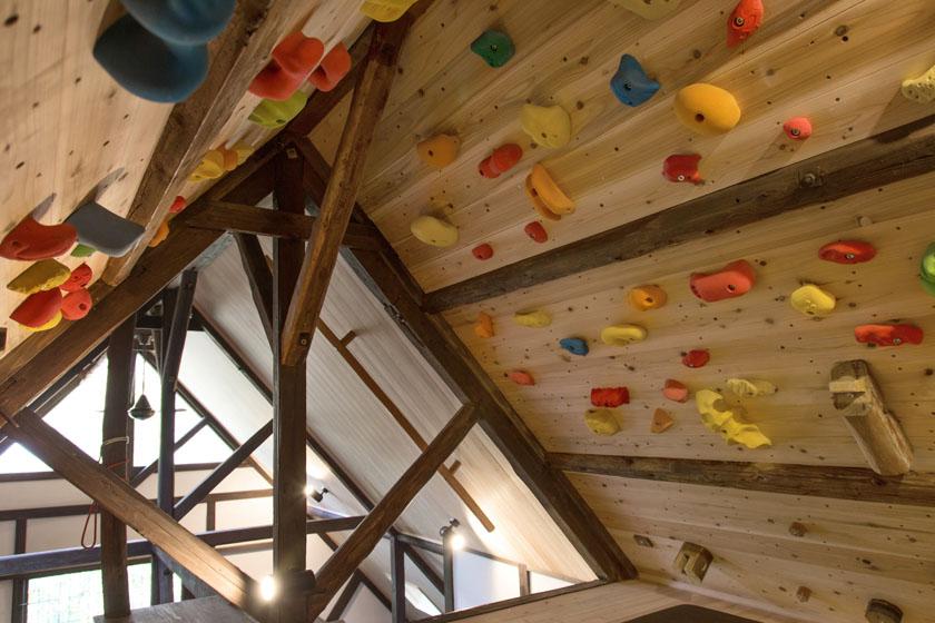 屋根裏を利用した自作の鍛錬設備。の写真