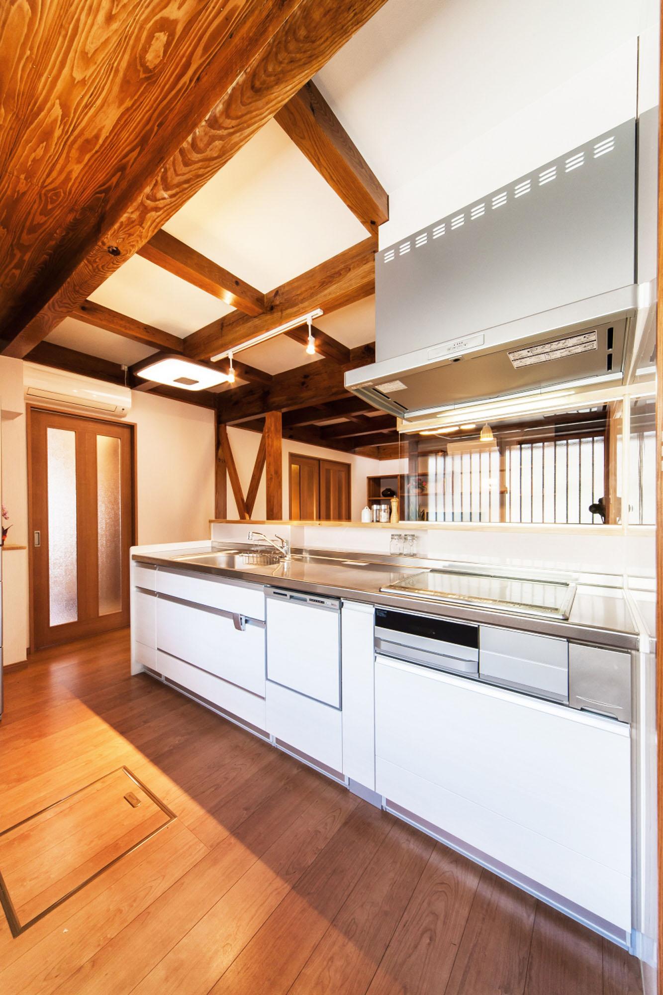 快適なキッチン。の写真