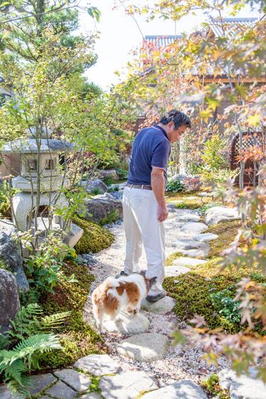 愛犬と一緒に楽しめる自然が身近に。の写真