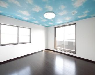 天井は空。の写真