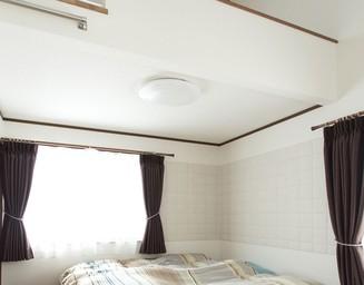 寝室にもエコカラット。の写真