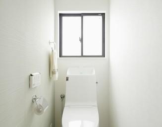白いトイレ。の写真