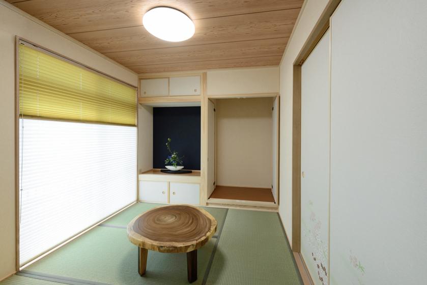 新しい感覚の和室。の写真
