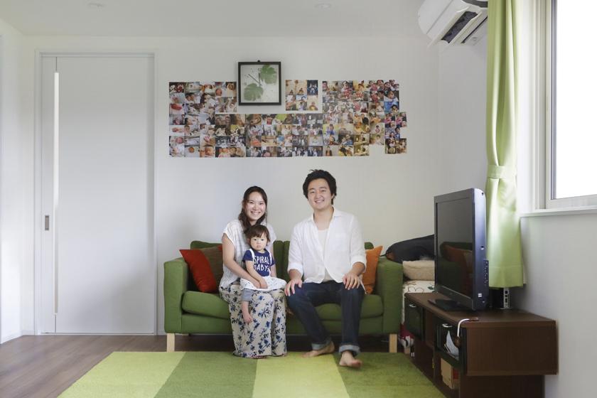 祖父母との二世帯同居のため、生家の2階をリフォーム。の写真
