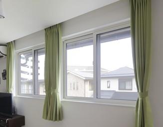 断熱性能トップクラスの窓は、快適性もハイレベル。の写真