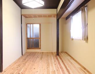 明るくなった主寝室。の写真