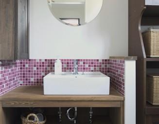 センスの良い洗面とは。の写真