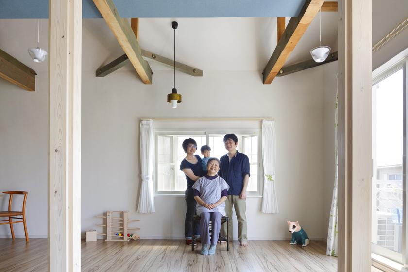 築30年の家を耐震化し、息子家族に引き継ぎました。の写真