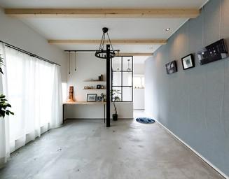 ギャラリー兼アトリエスペース。の写真
