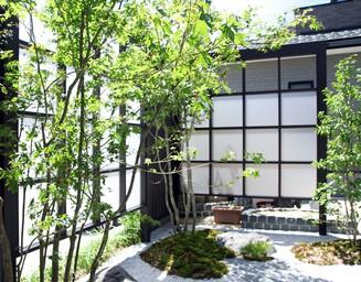 居心地の良いお庭スペースをつくりました。の写真