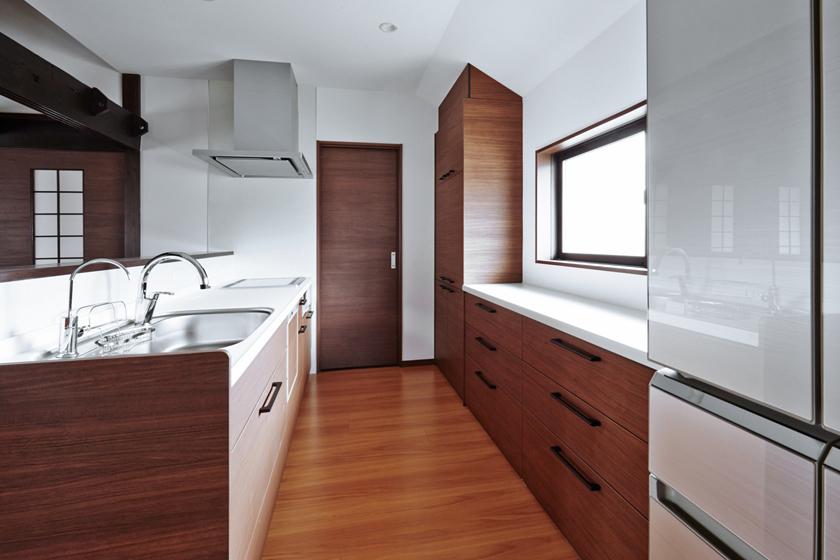 とても使いやすいキッチンになりました。の写真