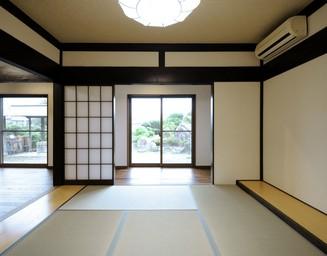 趣きのある和室空間。の写真