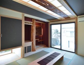 隅々までこだわった和室。の写真