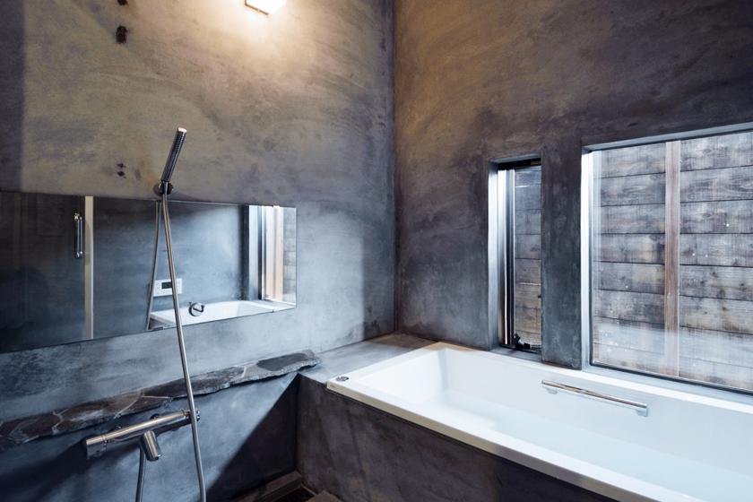 オンリーワンの浴室。の写真