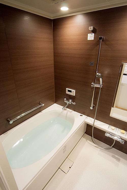 高級感のある浴室。の写真