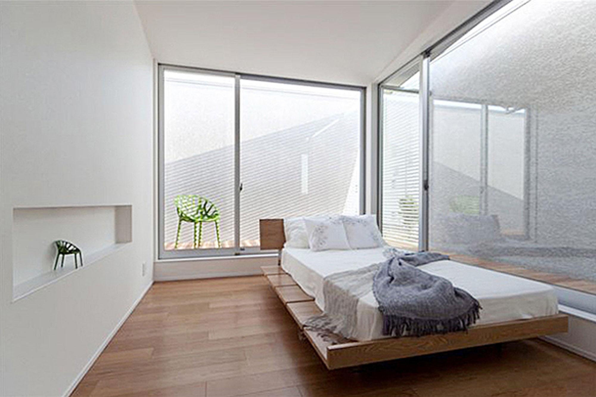大きな窓とプライバシー。の写真