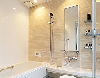 お風呂が一番くつろげる場所、ご主人のこだわり。の写真