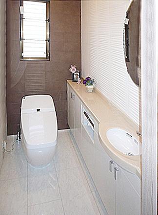 最高級なトイレ。の写真