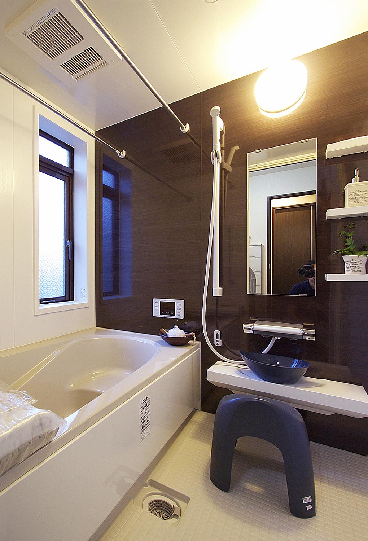 シックな浴室。の写真