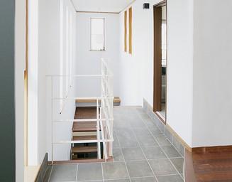 階段フロア。の写真