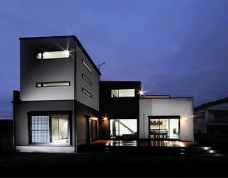 夜かっこいい家。の写真
