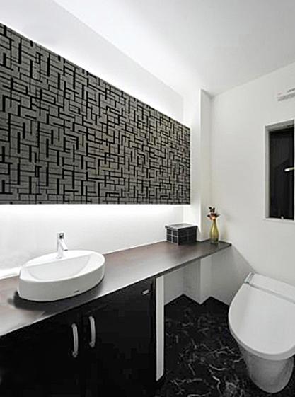 落ち着いた空間としてのトイレ。の写真