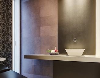 リゾートホテルのようなトイレ。の写真